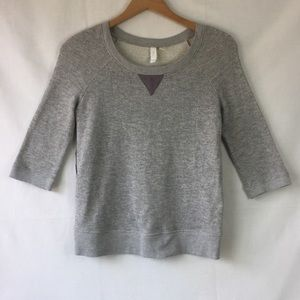 Eloise Anthropologie Pleated back sweater